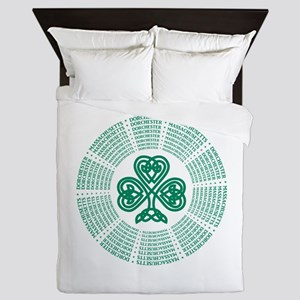Dorchester, MA Celtic Queen Duvet